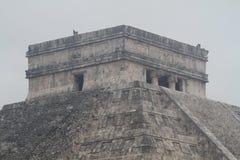 La pyramide chez Chichen Itza, Mexique image stock