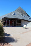 La pyramide chez Denver Botanic Gardens Photo stock