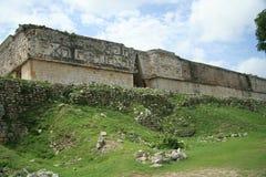 La pyramide chez Uxmal, Mexique photographie stock