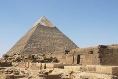 La pyramide de Khephren Image libre de droits