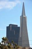 La pyramide de Transamerica à San Francisco Images libres de droits