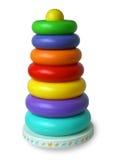 La pyramide des enfants de couleur Photographie stock libre de droits