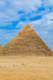 La pyramide grande Photographie stock