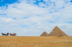 La pyramide grande Photo stock