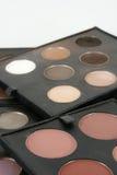 La qualité professionnelle composent et les produits cosmétiques Photo libre de droits