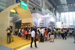 La quatrième session de l'exposition d'échange de projet de charité de la Chine à la convention de Shenzhen et au centre d'exposi Photographie stock
