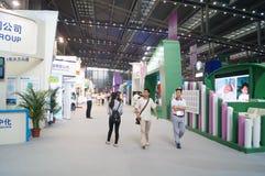 La quatrième session de l'exposition d'échange de projet de charité de la Chine à la convention de Shenzhen et au centre d'exposi Photo libre de droits