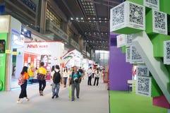 La quatrième session de l'exposition d'échange de projet de charité de la Chine à la convention de Shenzhen et au centre d'exposi Image libre de droits