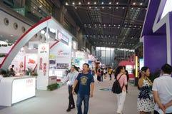 La quatrième session de l'exposition d'échange de projet de charité de la Chine à la convention de Shenzhen et au centre d'exposi Photo stock
