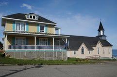 La Quebec, il piccolo villaggio di La Martre Immagini Stock Libere da Diritti