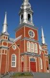 La Quebec, la chiesa storica del san Fabien Fotografia Stock Libera da Diritti