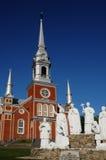 La Quebec, la chiesa storica del san Fabien Immagini Stock Libere da Diritti