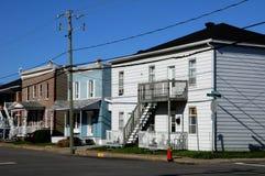 La Quebec, la città di Trois Rivieres in Mauricie Immagini Stock