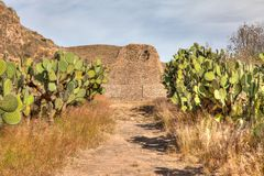 La Quemada, Zacatecas México fotografia de stock royalty free