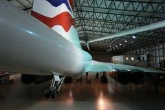 La queue d'une Concorde britannique image stock