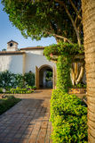 La Quinta, California. Sunrise on adobe wall in La Quinta, California Royalty Free Stock Images
