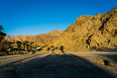 La Quinta, California. Sunrise on the hills in La Quinta, California Royalty Free Stock Photos
