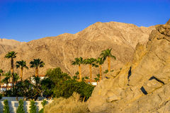 La Quinta, California. Sunrise on the hills in La Quinta, California Stock Image