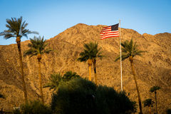 La Quinta, California. Sunrise on the hills in La Quinta, California Stock Images