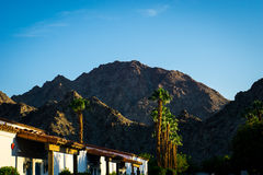 La Quinta, California. Sunrise on the hills in La Quinta, California Royalty Free Stock Photo