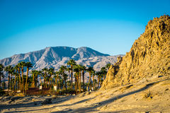 La Quinta, California. Sunrise on the hills in La Quinta, California Royalty Free Stock Images