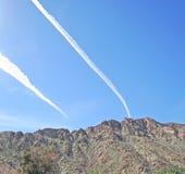 La Quinta Cove: Aerodinâmicas sobre a angra Fotografia de Stock