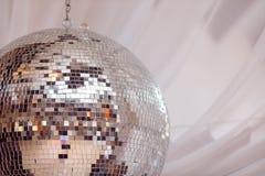 La réception allume la bille de disco Photos libres de droits