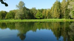 La réflexion dans l'eau Photographie stock