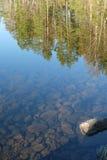 La réflexion dans l'eau Image libre de droits