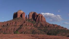 La réflexion de roche de cathédrale bourdonnent dedans Photos libres de droits