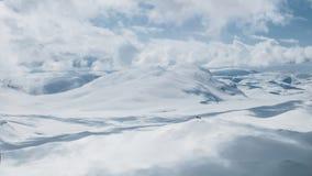 La région de glacier de Hardanger Image stock