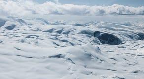 La région de glacier de Hardanger image libre de droits