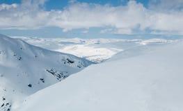 La région de glacier de Hardanger Photographie stock