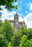 La région de la Transylvanie de château de Hunyad, Vlad Tepes photographie stock libre de droits