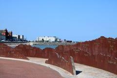 La Région des lacs abat le contour, hôtel intérieur, Morecambe photos libres de droits