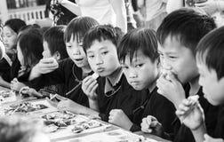 La région du nord-ouest Vietnam des enfants de festival de Mi-automne Photo libre de droits