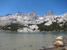 La région sauvage d'Ansel Adams, la Californie Photos libres de droits