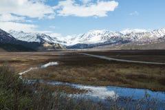 La région sauvage de l'Alaska Image libre de droits