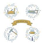 La réparation à la maison usine l'illustration illustration stock