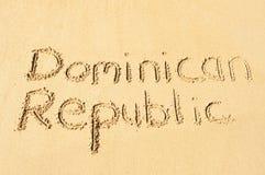 La république dominicaine Photographie stock libre de droits