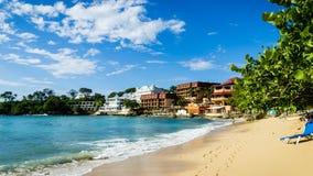 La République Dominicaine - baie de Sosua Photographie stock
