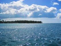 La République Dominicaine d'île de Saona Photographie stock libre de droits