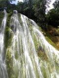 La République Dominicaine de cascade de limon d'EL Images libres de droits