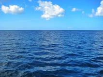 La République Dominicaine de mer bleue des Caraïbes Image stock
