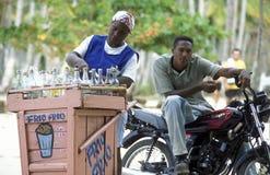 LA RÉPUBLIQUE DOMINICAINE DE MER DE L'AMÉRIQUE CARIBBIAN Photos stock