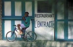 LA RÉPUBLIQUE DOMINICAINE DE MER DE L'AMÉRIQUE CARIBBIAN Photo libre de droits