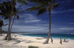 LA RÉPUBLIQUE DOMINICAINE DE MER DE L'AMÉRIQUE CARIBBIAN Image stock