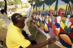 LA RÉPUBLIQUE DOMINICAINE DE MER DE L'AMÉRIQUE CARIBBIAN Photographie stock