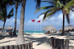 la république dominicaine des Caraïbes Image libre de droits