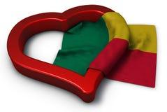 La république du Bénin Photographie stock